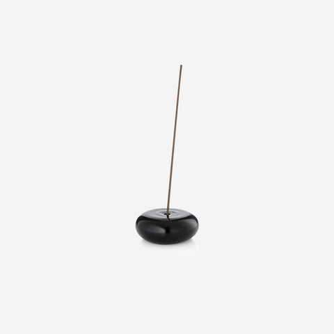 SIMPLE FORM. - Maison Balzac - Incense Holder Pebble Black - Incense Holder