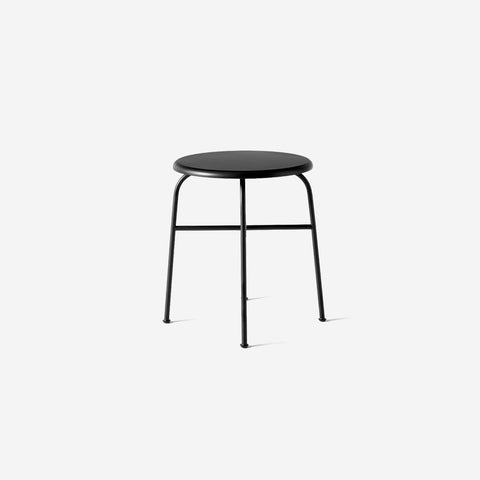 SIMPLE FORM. - Menu - Afteroom Stool Low Black - Table