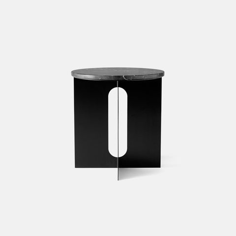 SIMPLE FORM. - Menu - Androgyne Side Table Black Marble - Side Table