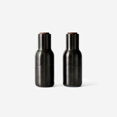 SIMPLE FORM. - Menu - Bottle Grinders Bronzed Brass - Mills