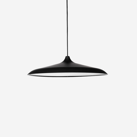 Menu - Circular Pendant Black - Table  SIMPLE FORM.