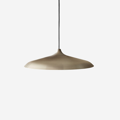 Menu - Circular Pendant Brushed Bronze - Table  SIMPLE FORM.