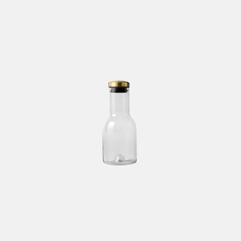Menu - Bottle Carafe 0.5L Smoke Brass - Bottle  SIMPLE FORM.