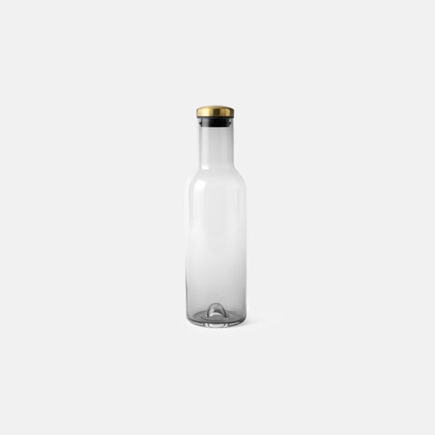 Menu - Bottle Carafe 1L Smoke Brass - Carafe  SIMPLE FORM.
