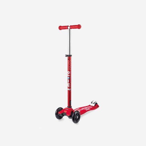 SIMPLE FORM. - Micro Scooters - Maxi Deluxe Micro Scooter Red - Scooter
