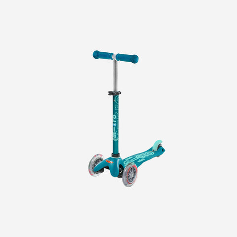 SIMPLE FORM. - Micro Scooters - Mini Deluxe Micro Scooter Aqua - Scooter