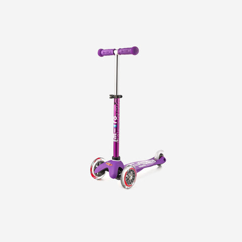 Micro Scooters - Mini Deluxe Micro Scooter Purple - Scooter  SIMPLE FORM.
