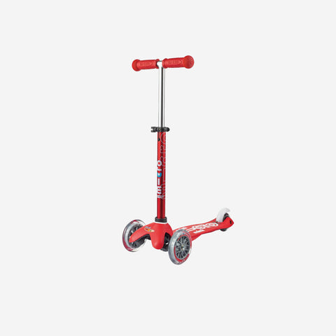 SIMPLE FORM. - Micro Scooters - Mini Deluxe Micro Scooter Red - Scooter