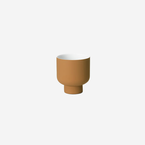 SIMPLE FORM. - Middle of Nowhere - Fergus Planter Ochre Small - Pot