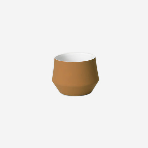 SIMPLE FORM. - Middle of Nowhere - Samso Planter Ochre Small - Pot