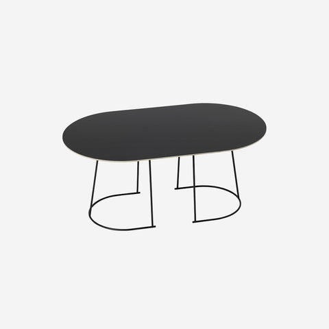 SIMPLE FORM. - Muuto - Airy Coffee Table Medium Black by Muuto - Table