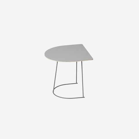 SIMPLE FORM. - Muuto - Airy Coffee Table Half Grey by Muuto - Coffee Table