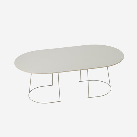 SIMPLE FORM. - Muuto - Airy Coffee Table Large Grey by Muuto - Table