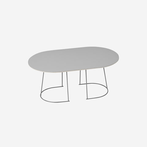 SIMPLE FORM. - Muuto - Airy Coffee Table Medium Grey by Muuto - Table