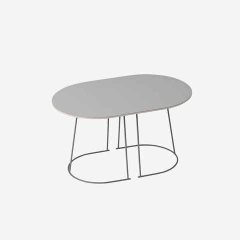 SIMPLE FORM. - Muuto - Airy Coffee Table Small Grey by Muuto - Table