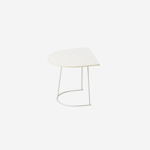 SIMPLE FORM. - Muuto - Airy Coffee Table Half Off-White by Muuto - Coffee Table