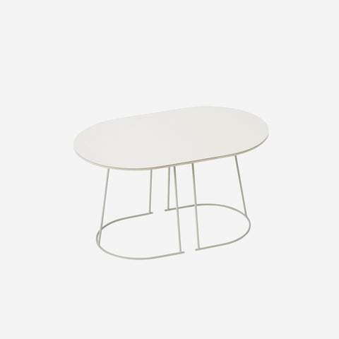 SIMPLE FORM. - Muuto - Airy Coffee Table Small Off-White by Muuto - Table