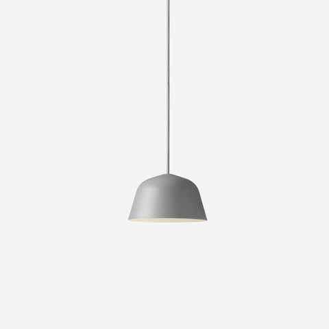 SIMPLE FORM. - Muuto - Ambit Pendant Ø16.5cm Grey by Muuto - Pendant