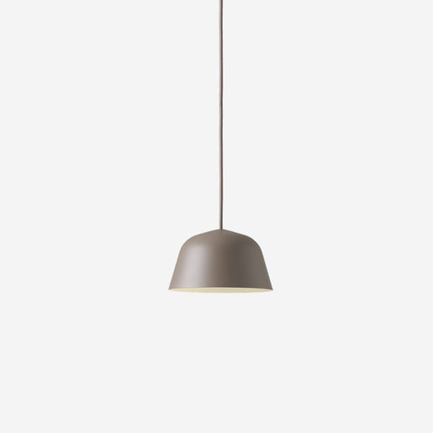 SIMPLE FORM. - Muuto - Ambit Pendant Ø16.5cm Taupe by Muuto - Pendant