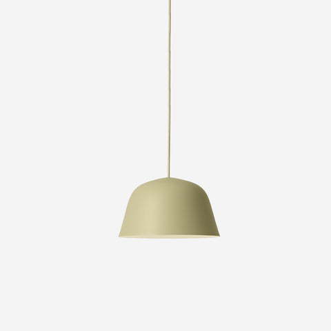 SIMPLE FORM. - Muuto - Ambit Pendant Ø25cm Green Beige by Muuto - Pendant