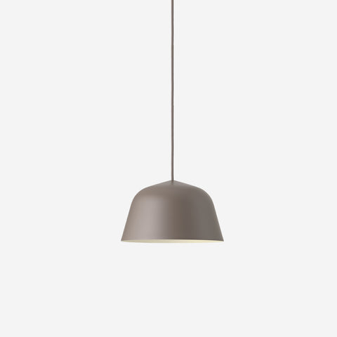 SIMPLE FORM. - Muuto - Ambit Pendant Ø25cm Taupe by Muuto - Pendant