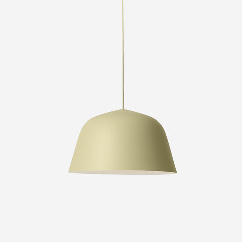 SIMPLE FORM. - Muuto - Ambit Pendant Ø40cm Green Beige by Muuto - Pendant