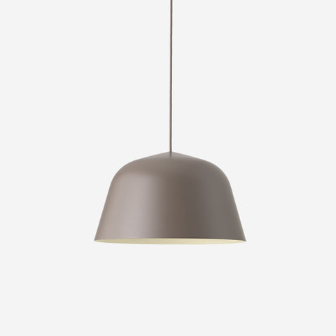 SIMPLE FORM. - Muuto - Ambit Pendant Ø40cm Taupe by Muuto - Pendant