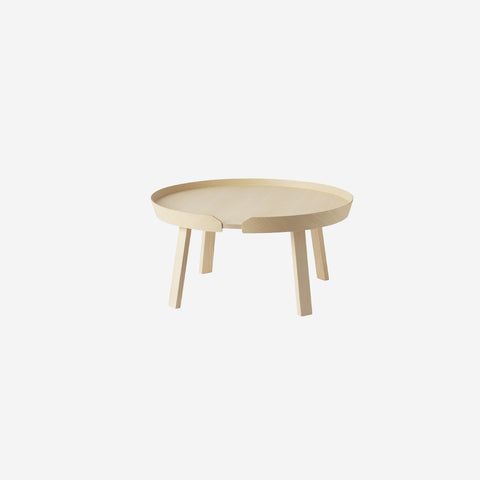 SIMPLE FORM. - Muuto - Around Coffee Table Large Ash by Muuto - Table