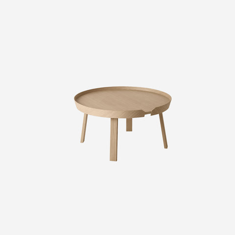 SIMPLE FORM. - Muuto - Around Coffee Table Large Oak by Muuto - Table