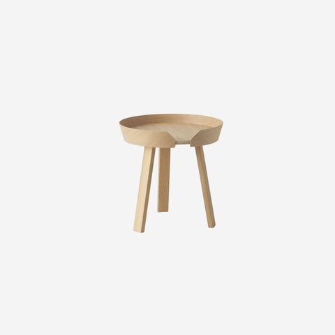 SIMPLE FORM. - Muuto - Around Coffee Table Small Oak by Muuto - Table