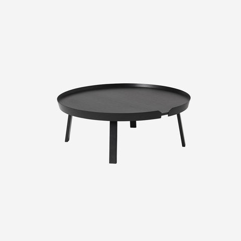 SIMPLE FORM. - Muuto - Around Coffee Table Extra Large Black - Coffee Table