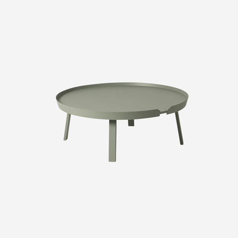 SIMPLE FORM. - Muuto - Around Coffee Table Extra Large Dusty Green by Muuto - Table
