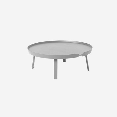 SIMPLE FORM. - Muuto - Around Coffee Table Extra Large Grey by Muuto - Table