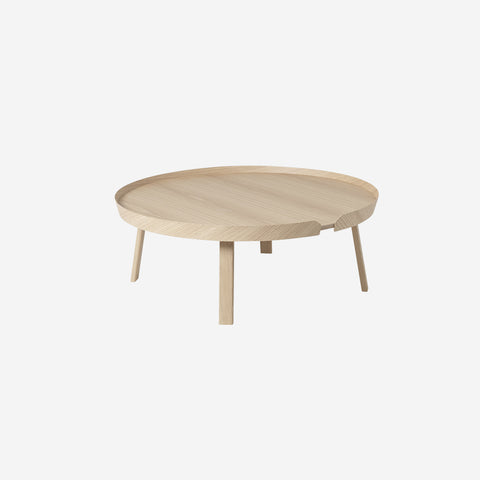 SIMPLE FORM. - Muuto - Around Coffee Table Extra Large Oak by Muuto - Table