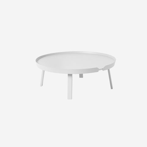SIMPLE FORM. - Muuto - Around Coffee Table Extra Large White by Muuto - Coffee Table