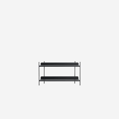 SIMPLE FORM. - Muuto - Compile Shelf Black Configuration 1 by Muuto - Shelf