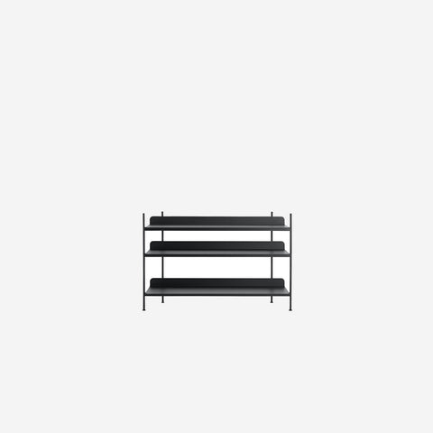 SIMPLE FORM. - Muuto - Compile Shelf Black Configuration 2 by Muuto - Shelf
