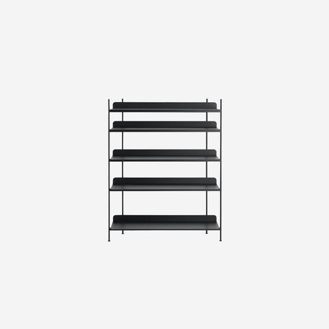 SIMPLE FORM. - Muuto - Compile Shelf Black Configuration 3 by Muuto - Shelf