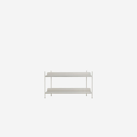 SIMPLE FORM. - Muuto - Compile Shelf Grey Configuration 1 by Muuto - Shelf