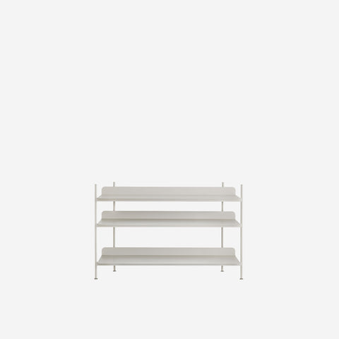 SIMPLE FORM. - Muuto - Compile Shelf Grey Configuration 2 by Muuto - Shelf