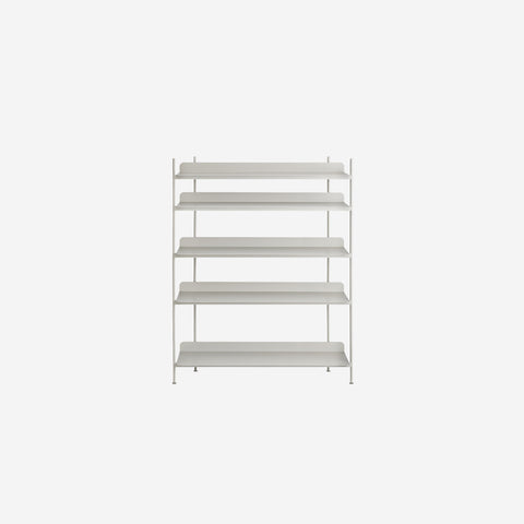 SIMPLE FORM. - Muuto - Compile Shelf Grey Configuration 3 by Muuto - Shelf