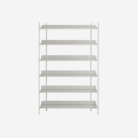 SIMPLE FORM. - Muuto - Compile Shelf Grey Configuration 4 by Muuto - Shelf