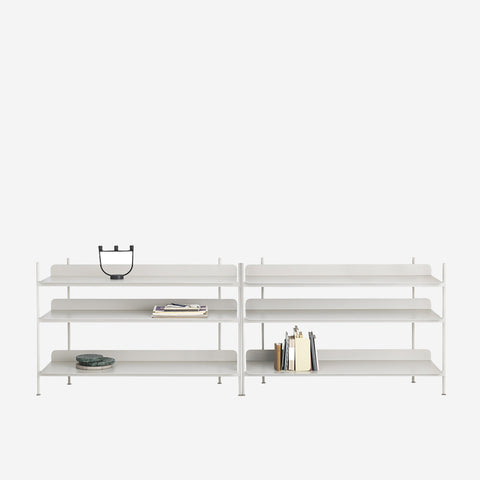 SIMPLE FORM. - Muuto - Compile Shelf Grey Configuration 6 by Muuto - Shelf