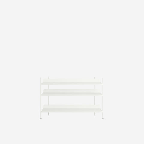 Muuto - Compile Shelf White Configuration 2 by Muuto - Shelf  SIMPLE FORM.