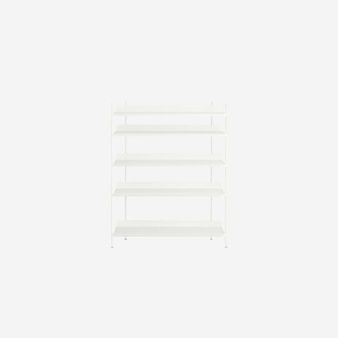 Muuto - Compile Shelf White Configuration 3 by Muuto - Shelf  SIMPLE FORM.