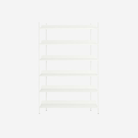 Muuto - Compile Shelf White Configuration 4 by Muuto - Shelf  SIMPLE FORM.