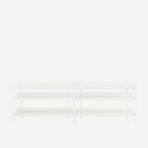 SIMPLE FORM. - Muuto - Compile Shelf White Configuration 6 by Muuto - Shelf