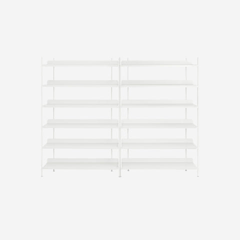 Muuto - Compile Shelf White Configuration 8 by Muuto - Shelf  SIMPLE FORM.