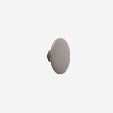 Muuto - Dot Hook Wood Taupe Medium by Muuto - Hook  SIMPLE FORM.
