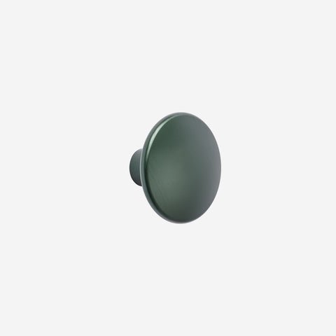 SIMPLE FORM. - Muuto - Dot Hook Metal Green Large by Muuto - Hook
